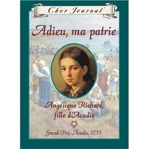 Le livre Cher journal: Adieu ma patrie