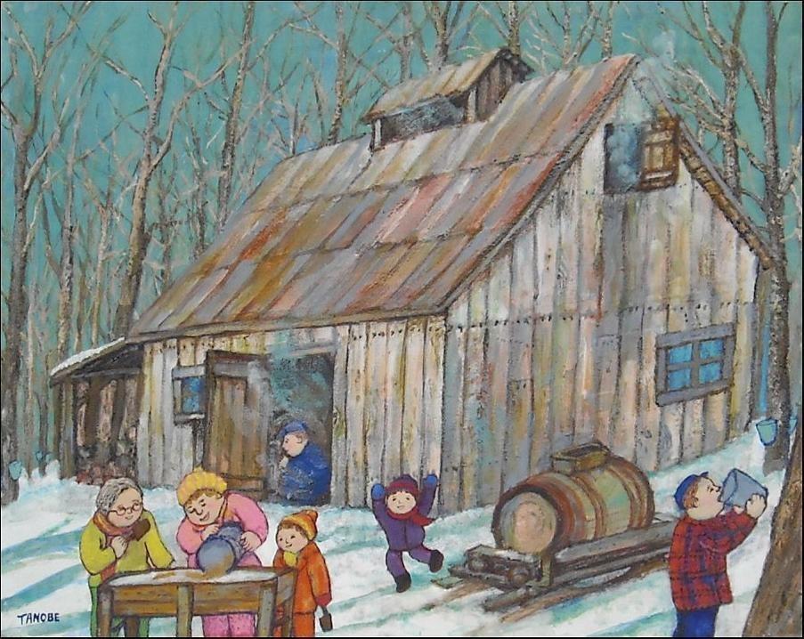 La cabane a sucre bienvenue sur le blogue des jeunes - Dessin de cabane ...