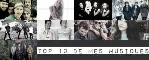 Le top 10 de mes musiques préférer !