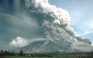 La coulée pyroclastique