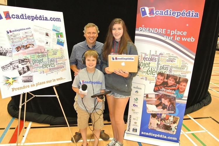 Acadiepédia: Les jeunes prennent leur place sur le Web!