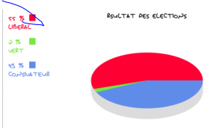 Résultats des éléctions