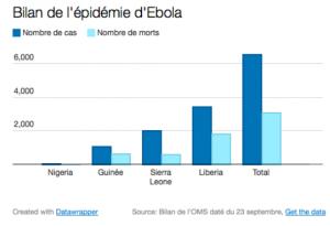 Bilan de l'épidémie d'Ebola