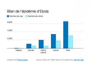 Bilan de l'épidémie d'Ebola!
