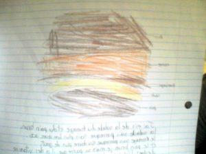 Mon hamburger de Claudie Ouelette
