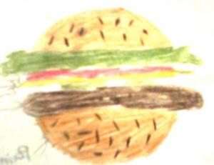 Mon hamburger