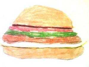 Mon hamburger parfait