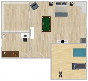 Chambre de Rêve (Plan) [Joey]
