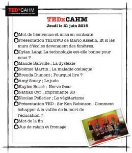 TEDxCAHM