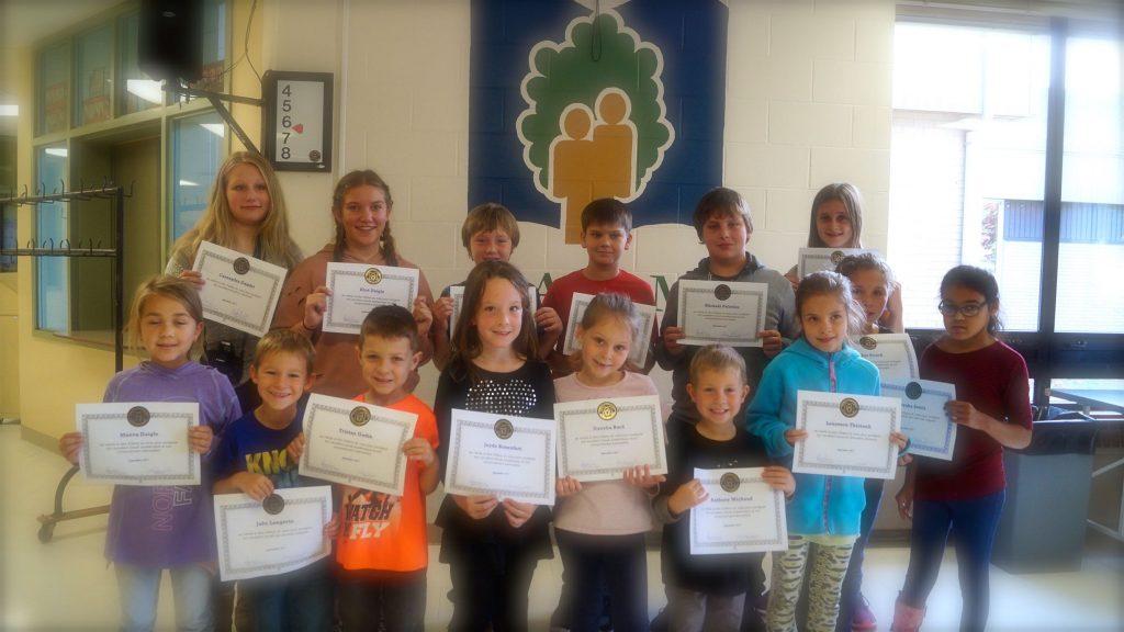 élèves du mois de sept 2017
